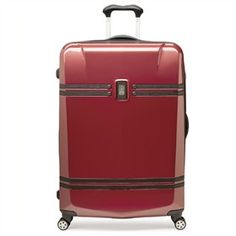 """The Travelpro Crew 10 - 25"""" Expandable Hardside Spinner is split case constructed which provides multiple packing options."""