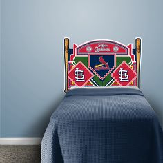 St Louis Cardinals Headboard