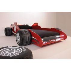 racing lit voiture extensible 90 x 190 cm ou 90 x 200 cm. Black Bedroom Furniture Sets. Home Design Ideas