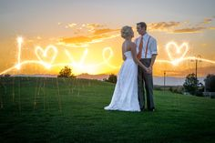 Sunset shot by AMK Wedding Photography