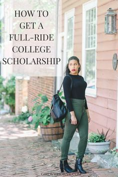 No you don't need to be the perfect student or a star athlete to receive a scholarship at a major university. Here are tips and advice to get a full-ride college scholarship.