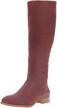 375432df1849 Nine West Womens Nicolah Leather KneeHigh Boot Brown 85 M US   Click on the  image