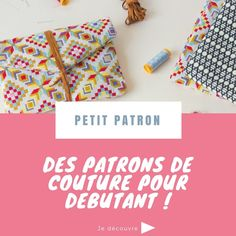 Tuto couture - ajouter une poche zippé sur un sac - Crochet Purse Patterns, Crochet Purses, Fabric Patterns, Sewing Patterns, Easy Patterns, Skirt Patterns, Blouse Patterns, Sewing Hacks, Sewing Tutorials