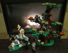 LEGO The Hobbit: An Unexpected Journey | Attack of the Wargs