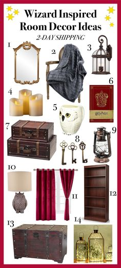 Harry Potter room ideas - wizard inspired room ideas – Looking for Harry Potter room ideas? Harry Potter Casas, Décoration Harry Potter, Harry Potter Nursery, Harry Potter Houses, Harry Potter Things, Room Ideas Bedroom, Diy Room Decor, Bedroom Decor, Room Decorations