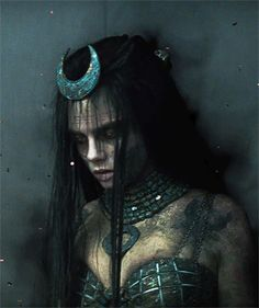 Cara Delevingne as June Moone/Enchantress in Suicide Squad