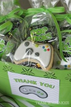 Video Game Party Cookies & Candy