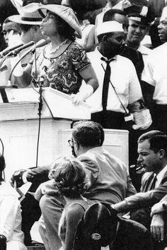 March on Washington August 28, 1963  Marion Anderson