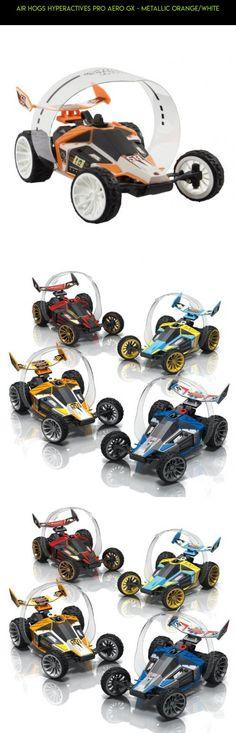 Air Hogs Hyperactives Pro Aero GX - Metallic Orange/White #parts #air #kit #technology #drone #360 #tech #plans #shopping #hogs #fpv #racing #products #camera #gadgets