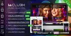 Clubix - Nightlife, Music & Events WordPress Theme by stylishthemes https://themeforest.net/item/clubix-nightlife-music-events-wordpress-theme/6098535?ref=stylishthemes #albums #audioplayer #music #band #nightlife #party #woocommerce #wordpress #webdevelopment
