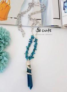 Κολιέ ροζάριο με Swarovski και σταγόνα – socutebydimi Tassel Necklace, Tassels, Swarovski, Personalized Items, Jewelry, Jewlery, Jewerly, Schmuck, Jewels