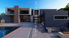 My Building Plans South Africa – Building Industry Marketplace Split Level House Plans, Square House Plans, Metal House Plans, My House Plans, Modern House Plans, House Floor Plans, My Building, Building Plans, Architect Fees