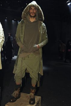 Greg Lauren Menswear Fall Winter 2016 New York