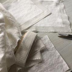 Linen handkerchiefs for tears of joy. Antique lace, washed linen. #australianfashionmakers #onewomanshow #madeinmelbourne #weddingaccessories #linenhandkercheif  #vintagelace #antiquelace #handmade #custommade