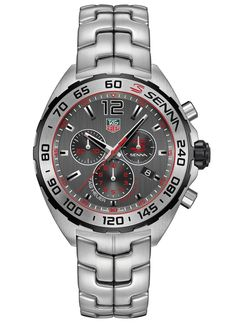 TAG Heuer Ayrton Senna Watch Resurrected With New Models