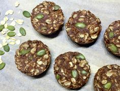 No Bake Chocolate Peanut Butter Oat Cookies 110 Calories Healthy Mummy Recipes, Healthy Deserts, Healthy Treats, Raw Food Recipes, Baking Recipes, Snack Recipes, Healthy Lunches, Chocolate Peanuts, Chocolate Peanut Butter