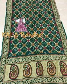 Bandhani Saree, Silk Sarees, Embroidery Saree, Hand Embroidery, End Of Season Sale, Hue, Bohemian Rug, Delicate, Australia
