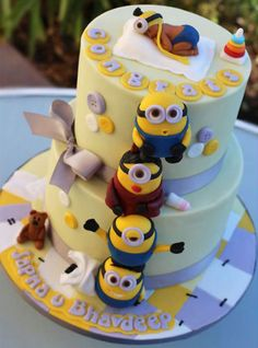 Resultado de imagen para tortas de minions