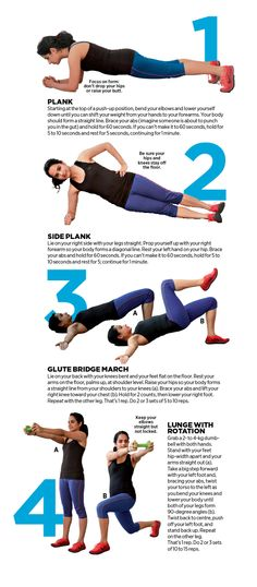 Melt your middle with this advanced workout