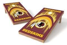 Washington Redskins Single Cornhole Board - Arch