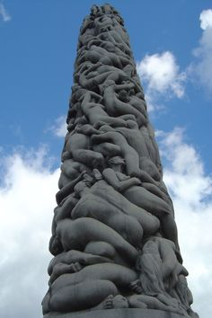 ♥ The Human Tower - Vigeland  - Oslo, Norway - been there:))