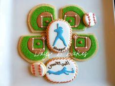Lizy B: Baseball Cookies!