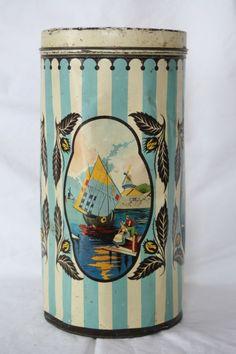 Cadek cocoa tin c1925