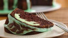 Choc Mint Cake recipe by Fatima Patel Yummy Treats, Sweet Treats, Yummy Food, Chocolates, Tube Cake Pan, Cake Recipes, Dessert Recipes, Mint Recipes, Yummy Recipes