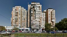 Bloc 15B - Housing - #architecture #googlestreetview #googlemaps #googlestreet #romania #bucharest #brutalism #modernism