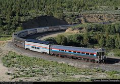 RailPictures.Net Photo: AMTK 156 Amtrak GE P42DC at Gilluly, Utah by James Belmont