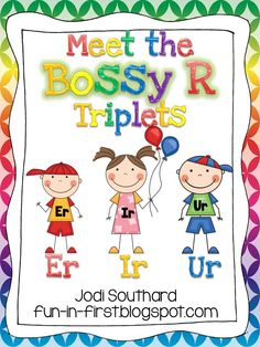 Fun in First Grade: Bossy R Triplets