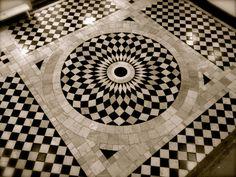 Queen's House, Greenwich; floor detail.