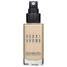 Bobbi Brown Skin Foundation SPF 15: Shop Foundation   Sephora