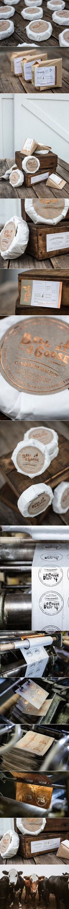 Bell & Goose Is a High Quality Cheese Brand With Vintage Inspired Packaging — The Dieline | Packaging & Branding Design & Innovation News