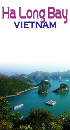 Emerald waters is one of the many features that make Ha Long Bay Vietnam a must...