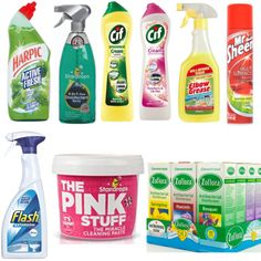 Mrs Hinch Ultimate Cleaning Bundle The Pink Stuff Zoflora Cif Harpic Flash hacks mrs hinch Deep Cleaning Tips, House Cleaning Tips, Cleaning Hacks, Cleaning Supplies, Cleaning Products, Cleaning Caddy, Domestic Cleaning, Cleaning Blinds, Grease Stains