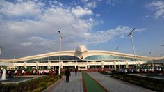 Ashgabat, Turkmenistan: The stunning $2.3 billion airport no one will use