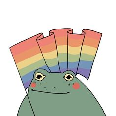 Pretty Art, Cute Art, Frog Drawing, Gay Aesthetic, Frog Art, Cute Frogs, Frog And Toad, Cute Drawings, Aesthetic Wallpapers