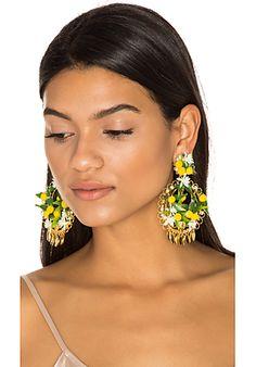 Fiesta Lemon Earrings