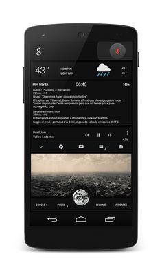 15 Stunning Nexus 5 Homescreen Customizations
