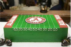 Alabama grooms cake roll tide