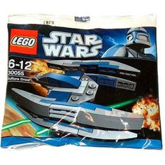 LEGO Star Wars Vulture Droid (30055) - Bagged -- Read more reviews of the product by visiting the link on the image. (This is an affiliate link) #BuildingToys