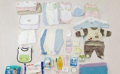 Lista do que comprar para o enxoval do bebê