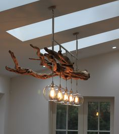 We quite frequently have requests for bespoke lighting designs but this driftwood chandelier is one of our favourites. Description from fritzfryer.co.uk. I searched for this on bing.com/images