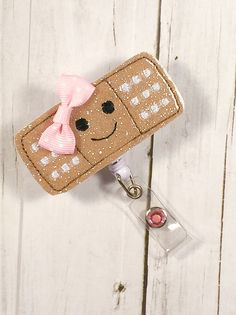 Cute Glitter Vinyl Band-Aid w/ Happy Face by PrettieCuteBoutique