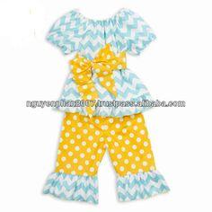 Blue_chevron_peasant_top_and_Yellow_polka.