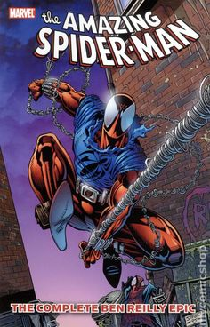 Amazing Spider-Man The Complete Ben Reilly Epic TPB Marvel) comic books Marvel Comic Character, Comic Book Characters, Marvel Characters, Comic Books Art, Comic Art, Character Art, Hq Marvel, Marvel Comics Art, Marvel Heroes