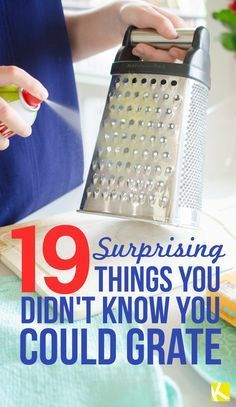 19 Surprising Things You Didn't Know You Could Grate