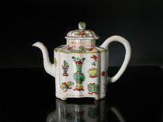 """""""Chinese Famille Verte Teapot on Ebay, http://www.bidamount.com/"""