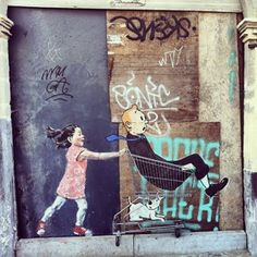 Le street-art de Ernest Zacharevic / PART.2 !